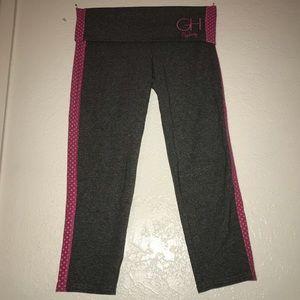 Gilly hicks yoga Capri foldover leggings